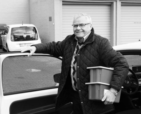Horst Bierend, Botenfahrer